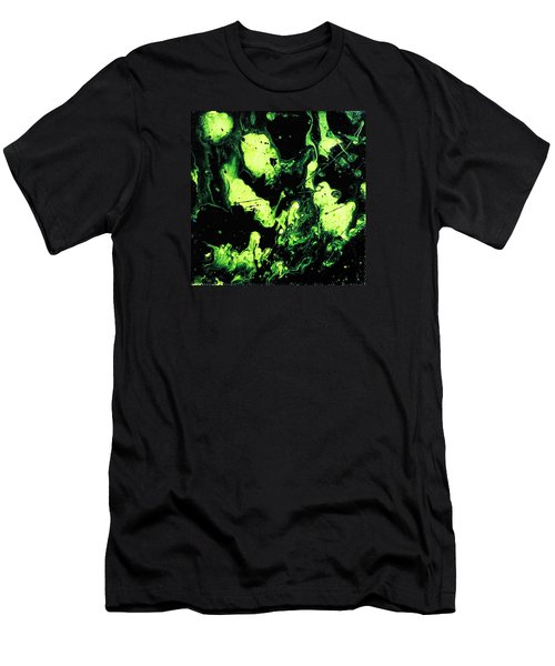 Men's T-Shirt (Athletic Fit) featuring the painting Paintball by Robbie Masso