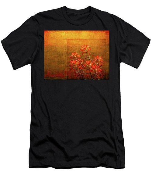 Paintbrush On The Horizon Men's T-Shirt (Athletic Fit)