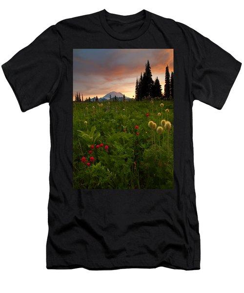 Paintbrush Sunset Men's T-Shirt (Athletic Fit)
