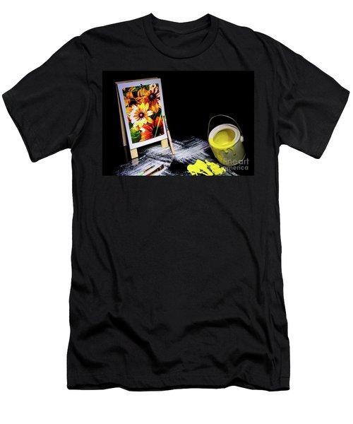 Painted Canvas Men's T-Shirt (Athletic Fit)