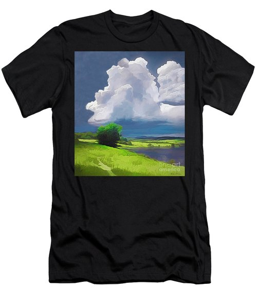 Painted Clouds Men's T-Shirt (Athletic Fit)