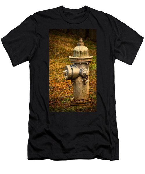 Painted Fireplug Men's T-Shirt (Athletic Fit)
