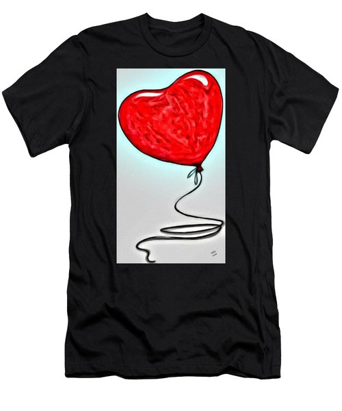 Painted Heart Men's T-Shirt (Athletic Fit)