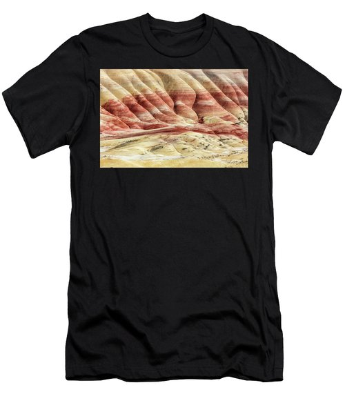 Men's T-Shirt (Athletic Fit) featuring the photograph Painted Hills Landscape by Pierre Leclerc Photography