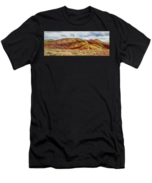 Painted Hills Panorama 2 Men's T-Shirt (Athletic Fit)