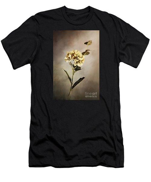 Painted Hydrangeas Men's T-Shirt (Athletic Fit)