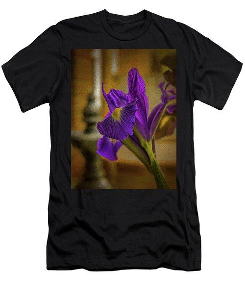 Painted Iris Men's T-Shirt (Athletic Fit)
