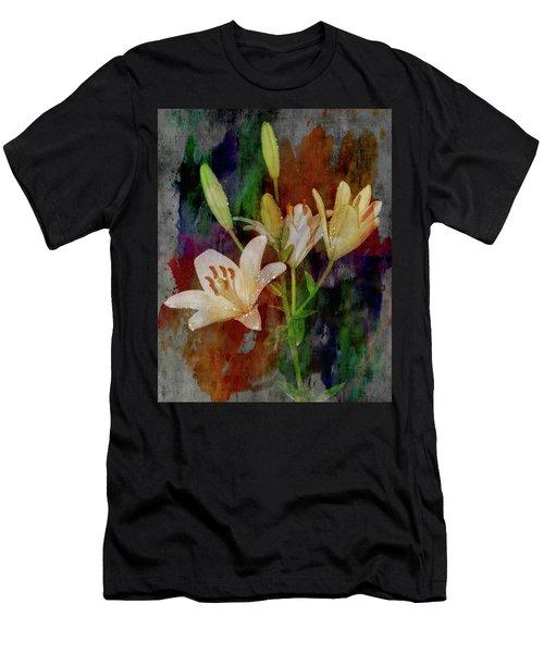 Painted Lilies Men's T-Shirt (Athletic Fit)