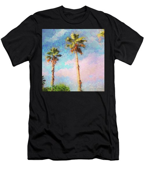 Painted Palms Men's T-Shirt (Athletic Fit)