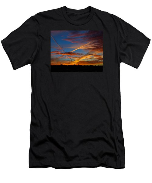 Painted Skies Men's T-Shirt (Athletic Fit)