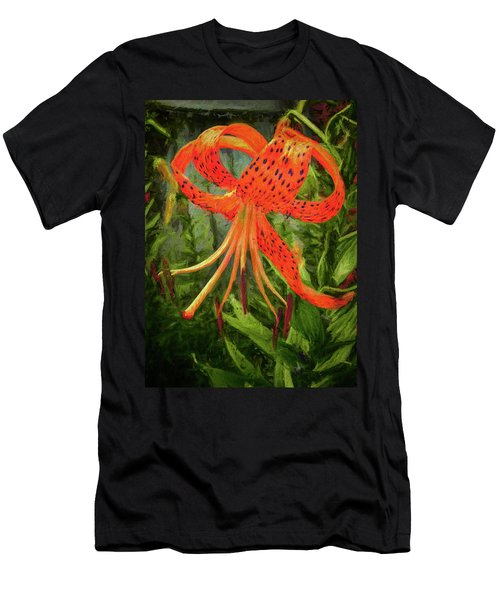 Painted Tiger Men's T-Shirt (Athletic Fit)
