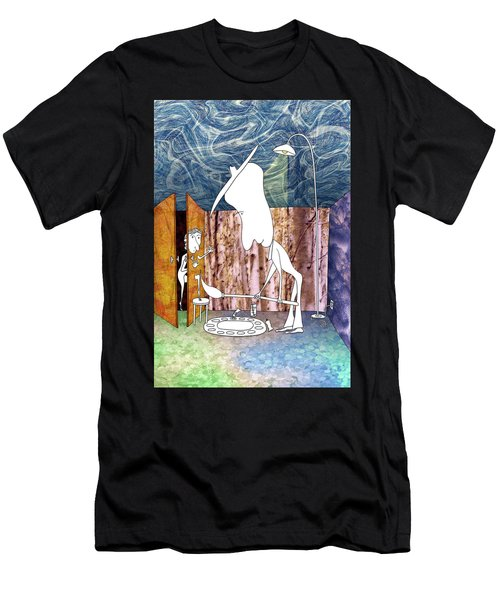 Painter Men's T-Shirt (Athletic Fit)
