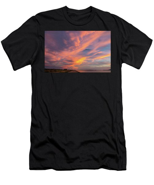 Painting By Sun Men's T-Shirt (Athletic Fit)