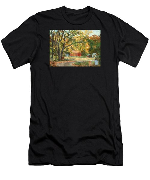 Painting The Fall Colors Men's T-Shirt (Athletic Fit)