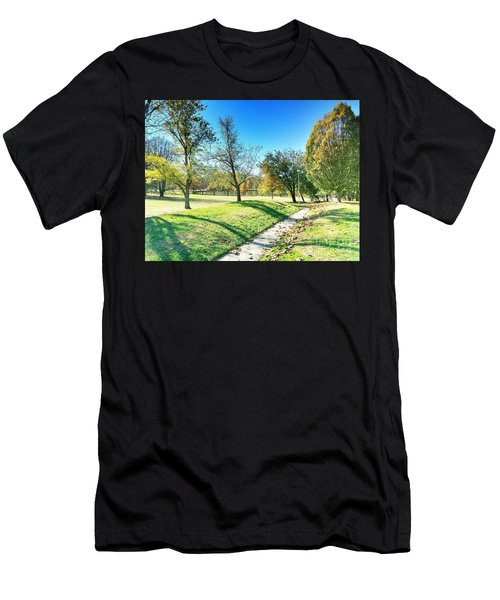 Painting With Shadows - Park Day Men's T-Shirt (Athletic Fit)