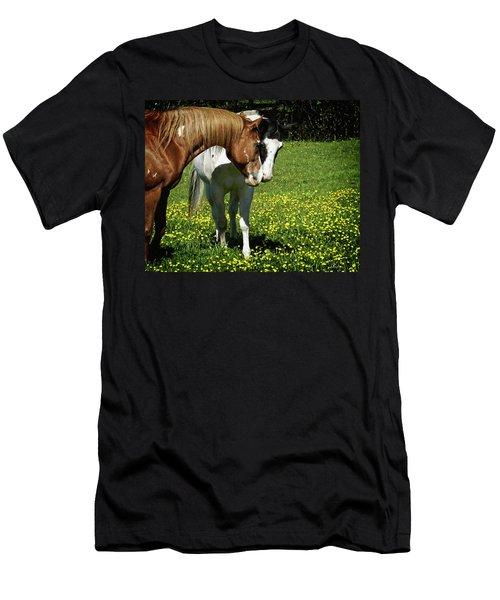 Paints And Buttercups Men's T-Shirt (Athletic Fit)