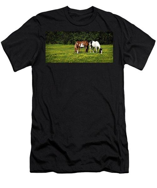Paints N Buttercups 2 Men's T-Shirt (Athletic Fit)