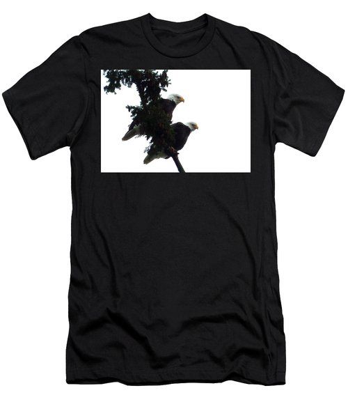 Pair Of Eagles In A Tree Men's T-Shirt (Athletic Fit)