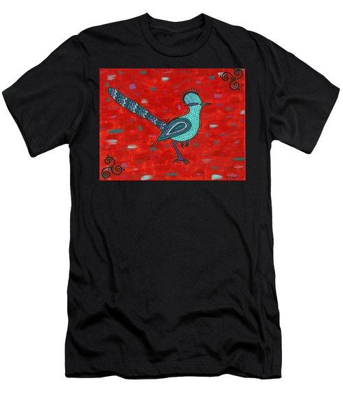 Paisano Petra - Roadrunner Men's T-Shirt (Slim Fit) by Susie WEBER