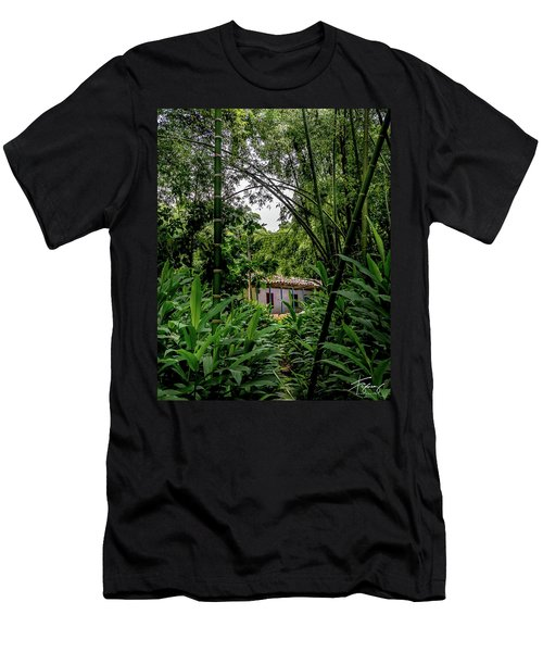 Men's T-Shirt (Athletic Fit) featuring the photograph Paiseje Colombiano #10 by Francisco Gomez