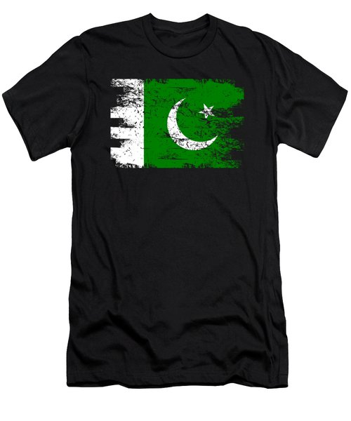 Pakistan Shirt Gift Country Flag Patriotic Travel Asia Light Men's T-Shirt (Athletic Fit)