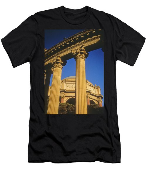Men's T-Shirt (Athletic Fit) featuring the photograph Palace Of Fine Arts, San Francisco by Frank DiMarco