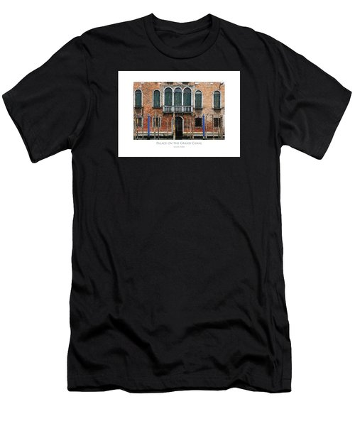 Men's T-Shirt (Athletic Fit) featuring the digital art Palace On The Grand Canal by Julian Perry