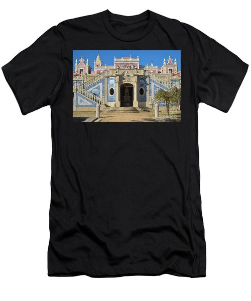 Palacio De Estoi Front View Men's T-Shirt (Athletic Fit)