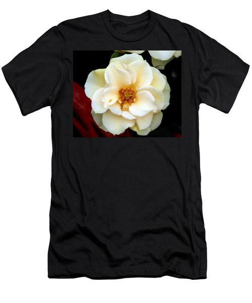 Men's T-Shirt (Slim Fit) featuring the photograph Pale Beauty by Lynda Lehmann