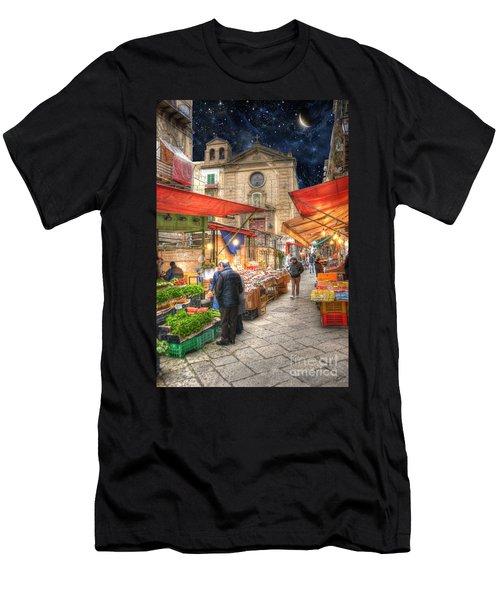 Palermo Market Place Men's T-Shirt (Athletic Fit)