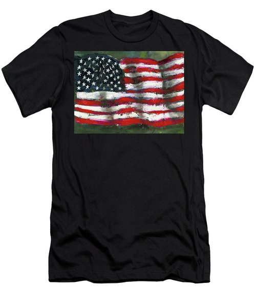 Palette Flag Men's T-Shirt (Athletic Fit)