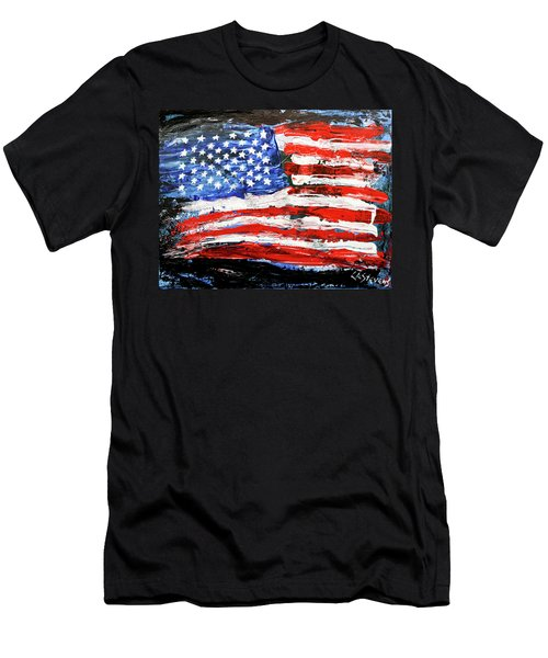 Palette Of Our Founding Principles Men's T-Shirt (Athletic Fit)