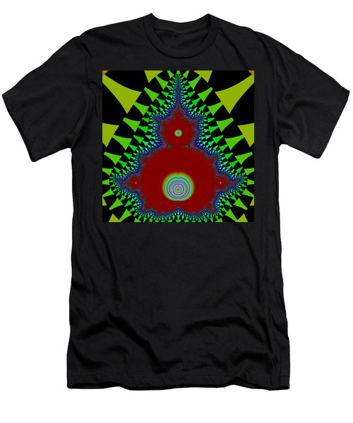 Men's T-Shirt (Athletic Fit) featuring the digital art Pallygages by Andrew Kotlinski