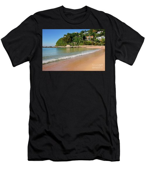 Palm Beach Southern End By Kaye Menner Men's T-Shirt (Athletic Fit)