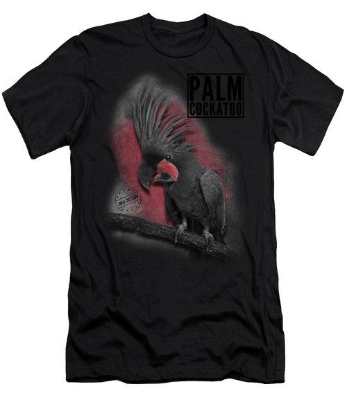 Palm Cockatoo No 01 Men's T-Shirt (Athletic Fit)