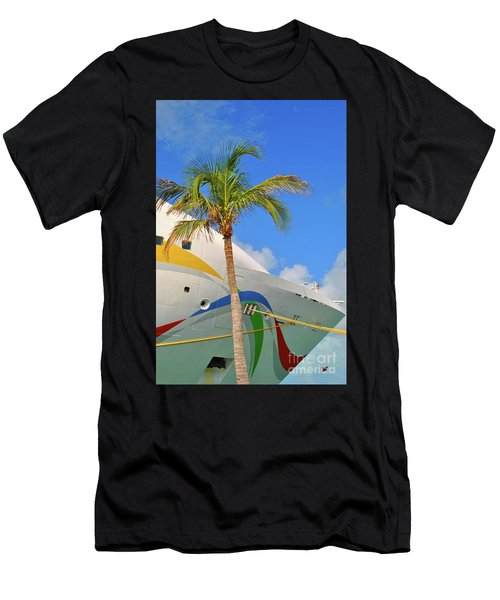 Men's T-Shirt (Athletic Fit) featuring the photograph Palm Cruise by Jost Houk