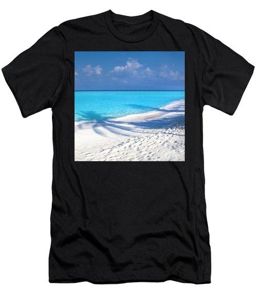 Palm Escape -  Part 3 Of 3 Men's T-Shirt (Athletic Fit)