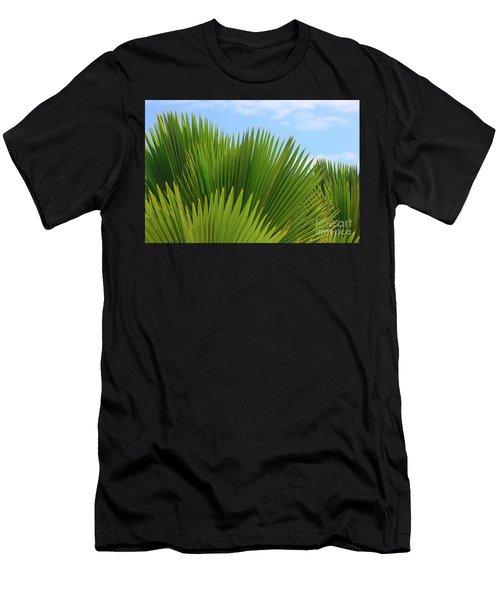 Palm Fans Men's T-Shirt (Athletic Fit)