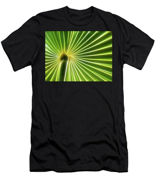 Palm Glow Men's T-Shirt (Athletic Fit)