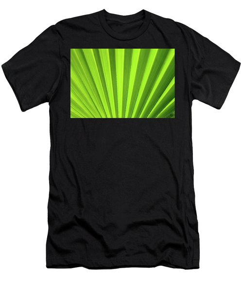 Palm Leaf Abstract Men's T-Shirt (Athletic Fit)