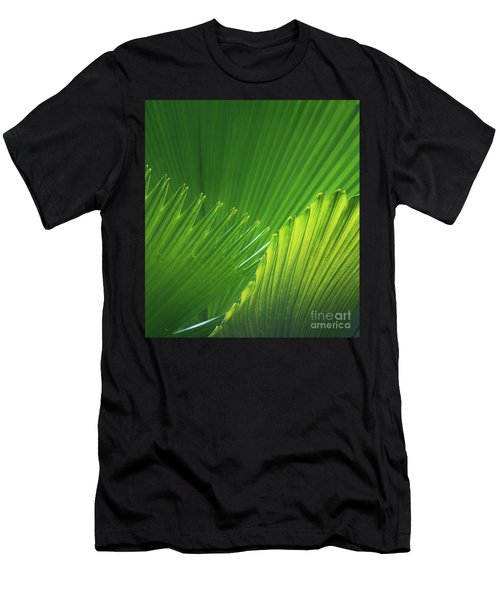 Palm Leaves Men's T-Shirt (Athletic Fit)