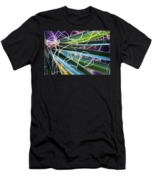 Palm Strings Men's T-Shirt (Athletic Fit)