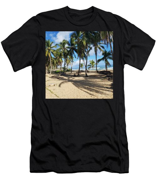 Palm Tree Family Men's T-Shirt (Athletic Fit)
