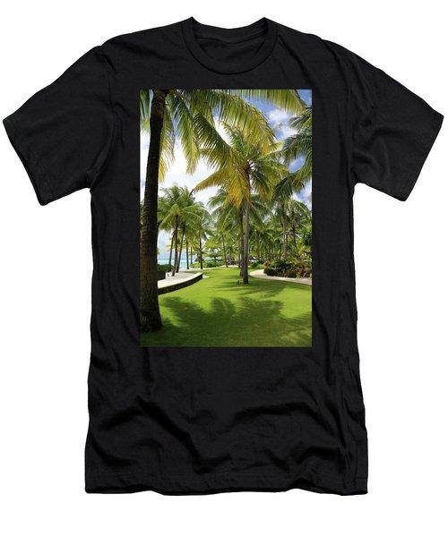 Palm Trees 2 Men's T-Shirt (Athletic Fit)