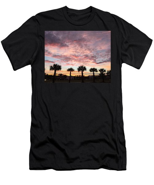 Palm Trees  Men's T-Shirt (Athletic Fit)