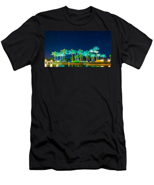 palm Trees Men's T-Shirt (Athletic Fit)