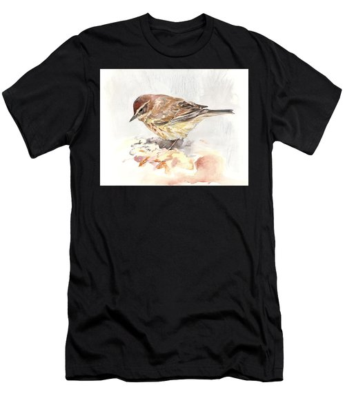 Palm Warbler Men's T-Shirt (Athletic Fit)