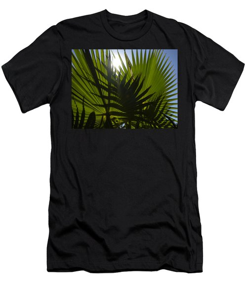 Men's T-Shirt (Slim Fit) featuring the photograph Palmetto 3 by Renate Nadi Wesley