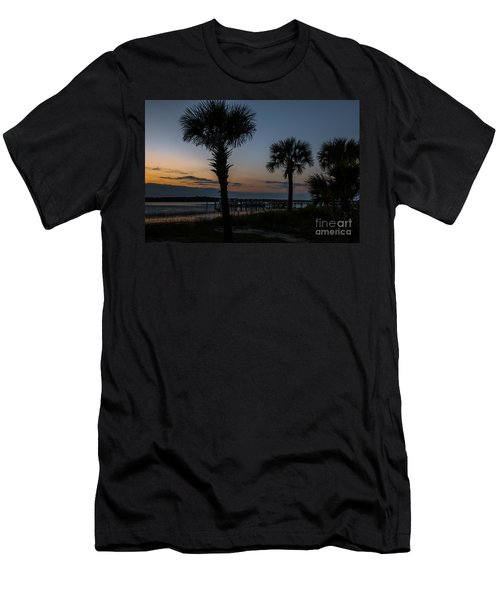Palmetto Sky Men's T-Shirt (Athletic Fit)