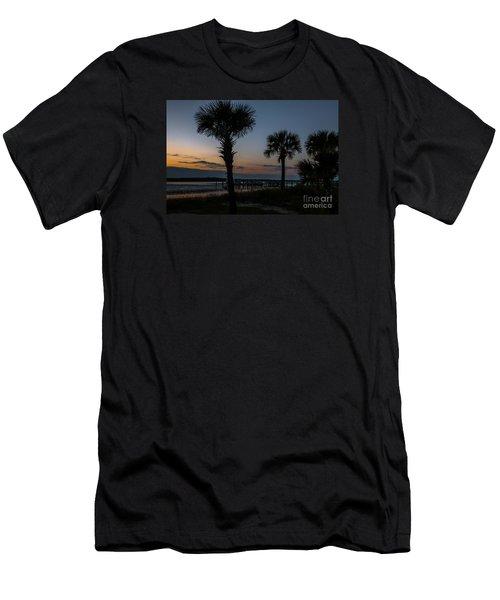 Palmetto Sky Men's T-Shirt (Athletic Fit)
